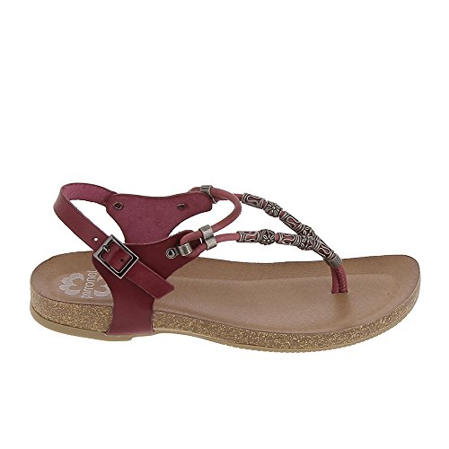 Porronet - Sandalias de vestir para mujer Rojo