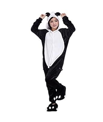 Disfraz de Oso Panda Pijama Peluche - Unisex, M