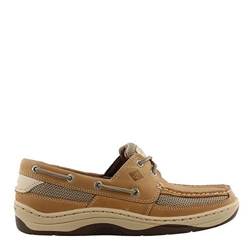 Sperry Mens Tarpon Tan 2-Eyelet Boat Shoes-10.5 W Tan