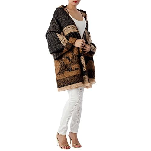 best iB-iP Mujer Gran Mantón Grande Manta Abrigos Estampados De Leopa Chal  Pashmina 166d7ea6849a