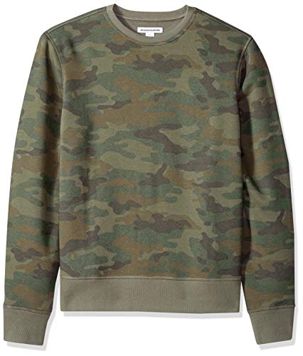 Amazon Essentials Men's Crewneck Fleece Sweatshirt, Camo, X-Large