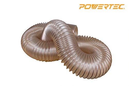 """POWERTEC 70161 Puncture Resistant Flexible PU Hose, 2-1/2"""" x"""