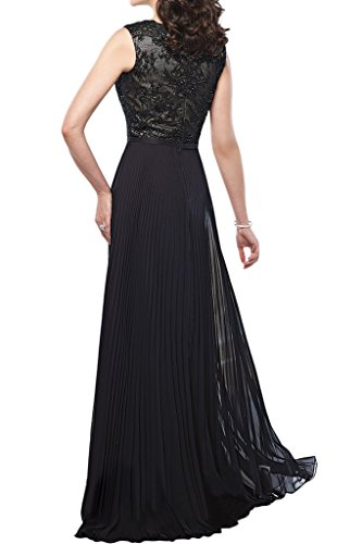 Brautmutter Lila Chiffon Marie Partykleider Abendkleider Geraft Braut Festlichkleider Hochzeits Hochwertig Spitze Lang La Bg4W6Yqg