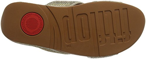 Gold Fitflop Oro Fitflop II Crystall Crystall Infradito Mix Slide Donna wqv8S6