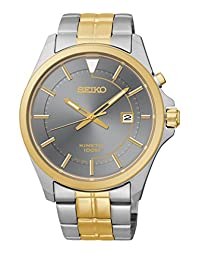 Seiko Men's SKA582 Two-Tone Kinetic Dress Watch