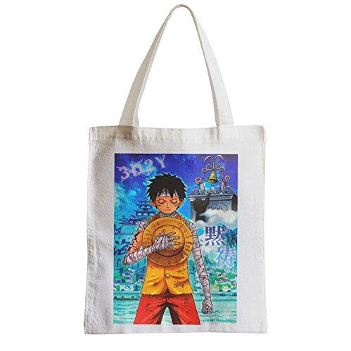 Grand Sac Shopping Plage Etudiant dans deux ans one piece recueillement ace poing argent manga