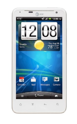 HTC Vivid X710a 16GB Unlocked GSM Android Dual-Core Smartphone - White (No Warranty)