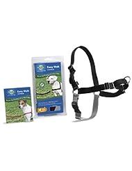 PetSafe Easy Walk Harness,  Medium, BLACK/SILVER for Dogs