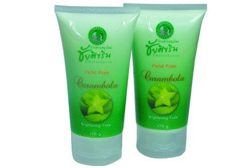 Chaisikarin-Golden-Home-Carambola-Herbal-Facial-Scrub-170-G-X-2-Pcs-Thailand
