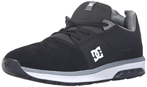 DC Scarpe da Skateboard Uomo Black/grey/white Sneakernews En Venta mjiRJl0e