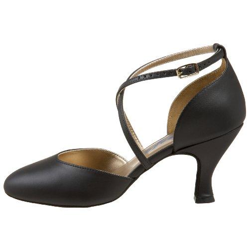 Femme Danse Chaussures X De Capezio Pump strap Black qtxHaTxnO