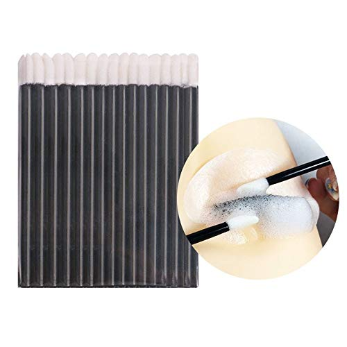 Disposable Eyebrow Brush 1000pc Disposable Make-up Brush,eyelash Brush,lipstick Lip Brush, Eyebrow Brush Makeup Tools Eyelash Extension by DAKUHO