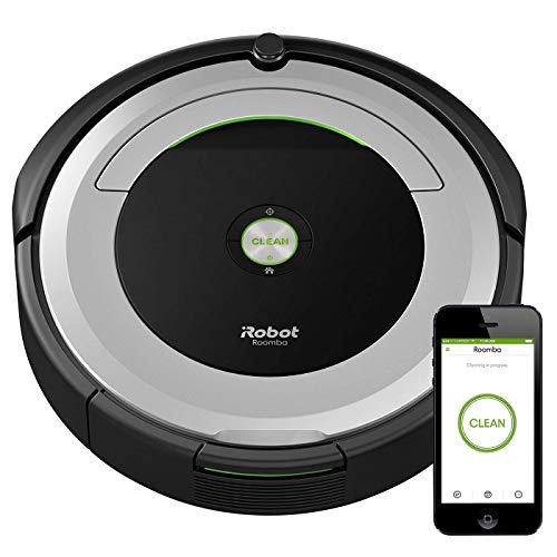 iRobot Roomba 690 Robot Vacuum-Wi-Fi Connectivity, Works with Alexa, Good for Pet Hair, Carpets, Hard Floors, Self-Charging (Best Way To Clean Real Hardwood Floors)