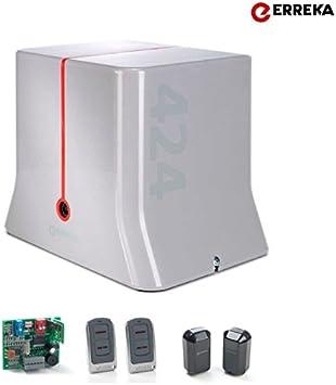 Motor Erreka para Puerta Corredera Kit DOLFIN 400 hasta 400Kg: Amazon.es: Bricolaje y herramientas