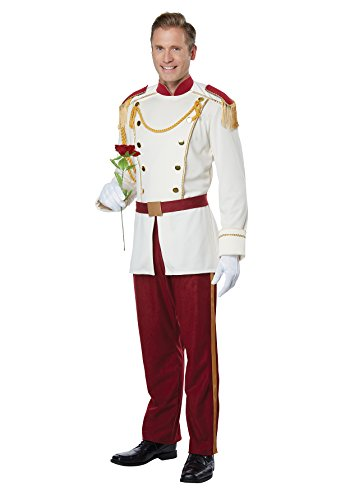 Mens Royal Storybook Prince Disney Costume size (Storybook Prince Adult Mens Costumes)