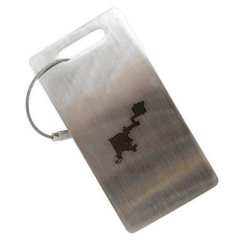 Colorado Denver Stainless Steel Luggage Tag, Luggage Tag (Colorado Pen Company)