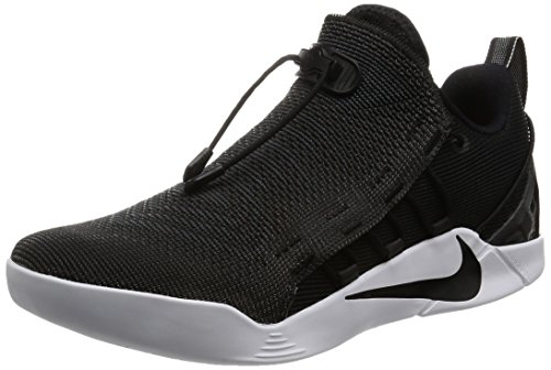 NIKE Kobe A.D. NXT Mens Basketball-Shoes 882049-007_10 - Black/Metallic Silver-White-White