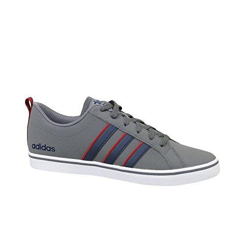adidas Vs Pace, Baskets Homme, Noir, 6 EU Gris (Grey Four/Collegiate Navy/Scarlet 0)
