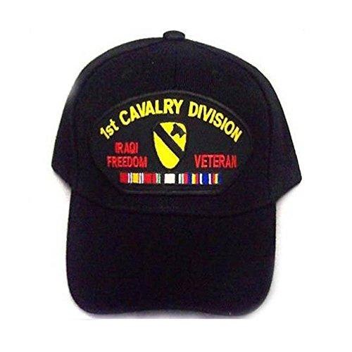 - 1st Cavalry Iraqi Freedom Vet Military Baseball Caps Hats ( Embroidered A7506V53)