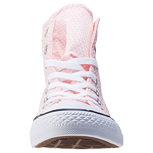 Blanc Femme Converse Baskets All Hi Star Rose Mode twqRY6qx