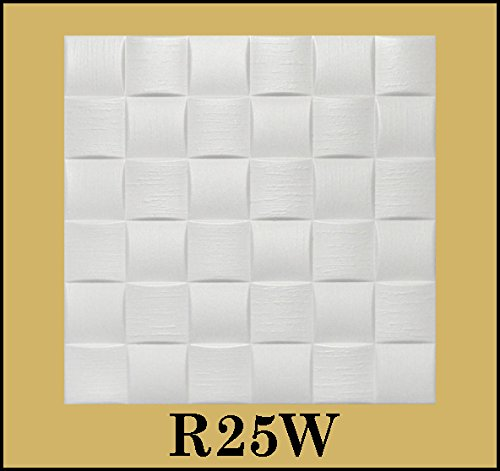 tin-look-glue-up-ceiling-tiles-20x20-styrofoam-extruded-polystyrene-r25w-lot-of-8