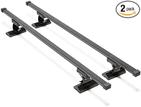 Summit Sum-108 Multifit Roof Bars For Cars Without Running Rails Pair Of
