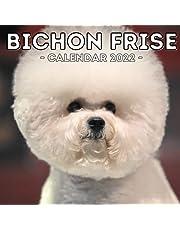 Bichon Frise Calendar 2022: 16-Month Calendar, Cute Gift Idea For Bichon Frise Lovers Or Owners Men And Women