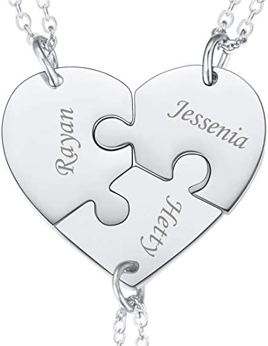 U7 Stainless Personalized Friendship Engraving product image