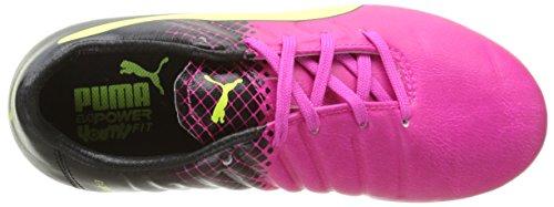 F6 Puma pink De Evopower Pink Glo black Niños Para 3 Jr safety Fg Yellow 01 Unisex 3 Fútbol Botas 1rSqwX1