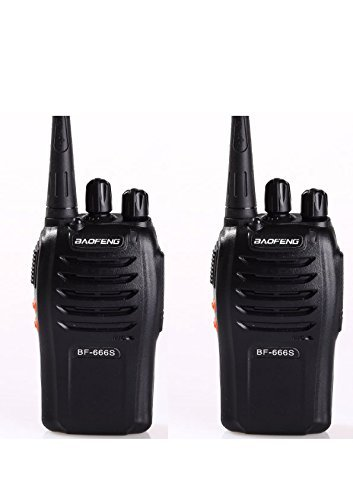 Baofeng BF-666S Walkie Talkie FM Transceiver - 1