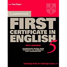 Camb. First Certificate Eng. Student´s Book 5 With Answer