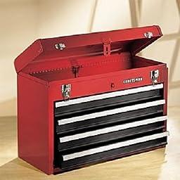 Craftsman 4-Drawer Metal Portable Chest - Red/Black
