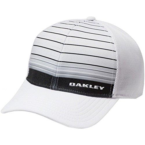 Oakley Men's 4.0 Print Silicon Bark Trucker, Grey/White, - Oakley Golfers