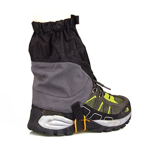 NUOLUX Outdoor Gaiters Waterproof Gaiters Size 22 x 20cm for Men and Women