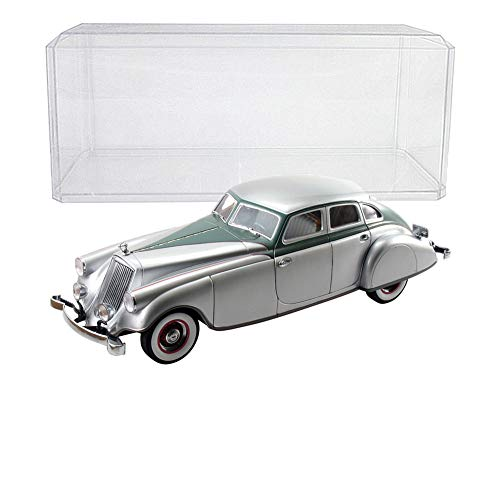 - (Set) 1933 Pierce-Arrow Silver Arrow Die Cast w/ Display Case - 1:18 Scale