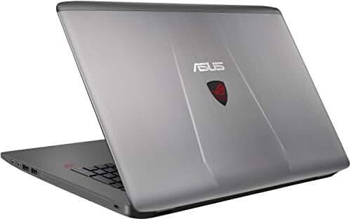 ASUS ROG GL752VW-DH74 17-Inch Gaming Laptop, Discrete GPU GeForce GTX 960M 4 GB VRAM, 16GB DDR4, 1 TB, 128 GB SSD (ROG Metallic)