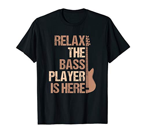 Guitar Player T-Shirt | funny bass guitarist band gift idea