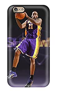 Fashionable Style Case Cover Skin For Iphone 6- Los Angeles Lakers Nba Basketball (66)