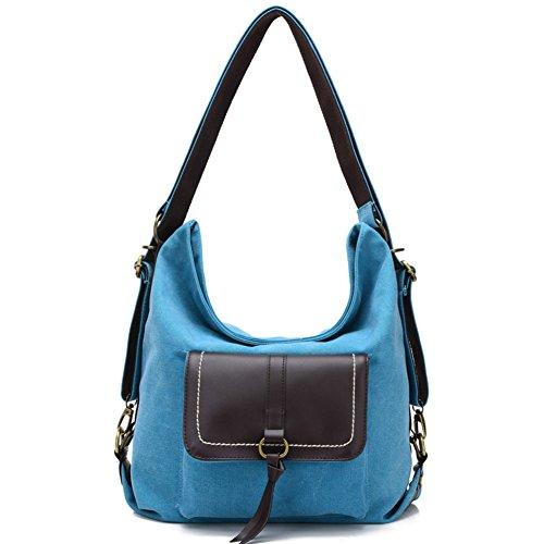 Women Bags Multifunction Bags Shoulder For For Retro Bag Women Canvas Handbag C Large Shoulder nZvAASq7