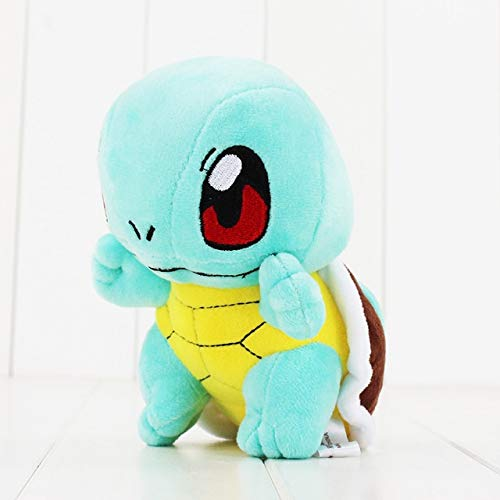 HOLLUK 11Style Ditto Lapras Wobbuffet Cyndaquil Snorlax Psyduck Luca Mew Mudkip Cute Plush Pandent Doll Toys for Kids -Multicolor Complete Series Merchandise