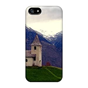 AMY KS Premium Protective Hard Case For Iphone 5/5s- Nice Design - Church With A View
