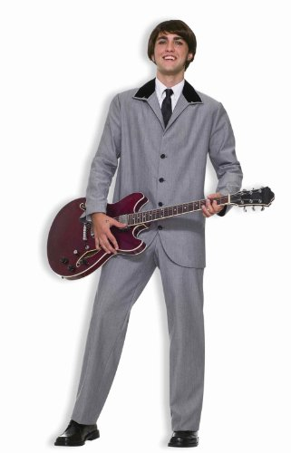 Beatles British Invasion Adult Suit 61802 62445