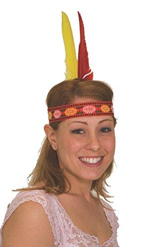 [Jacobson Hat Company Native American Feather Headdress] (Indian Headress)