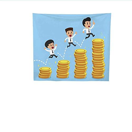 estry Businessmen.jpg Jumping.jpg Over.jpg Money.jpg Stacks.jpg Colorful Tapestry 63W x 63L Inch ()