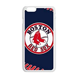 Boston Red Sox Fashion Comstom Plastic case cover For Iphone 6 Plus
