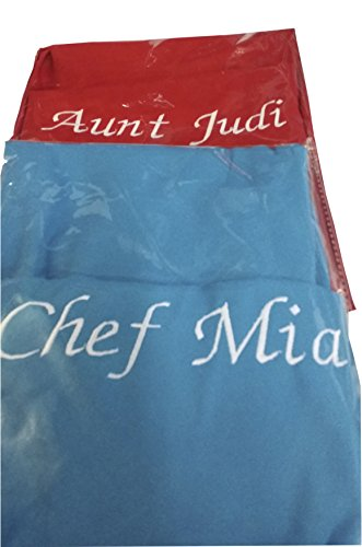 Chefskin Personalized Embroidery Apron Choose color and Name (CHILDREN SMALL)