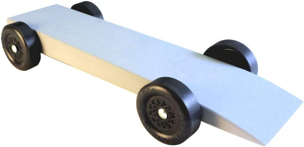 Pine Derby Car Kit with PRO Graphite to Build The Ferrari by Pinewood Pro