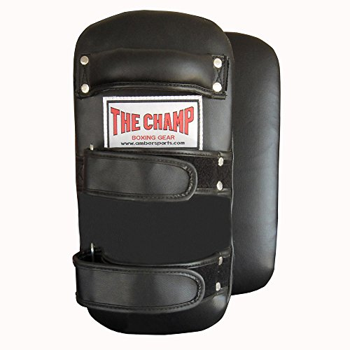 The Champ Muay Thai Kick Pads Pair L Large by The Champ