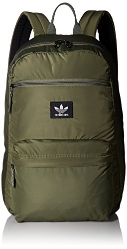- adidas Originals National Padded Backpack, Major Green, One Size