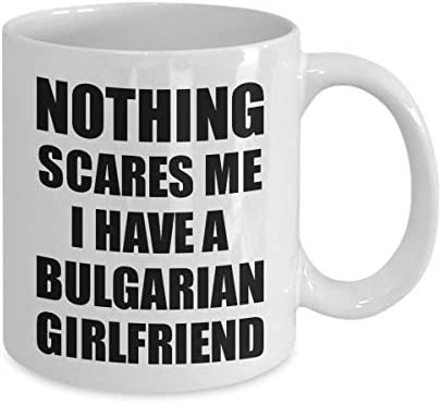 Amazon Com Bulgarian Girlfriend Mug Funny Valentine Gift For Bf